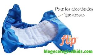 Aquí está el ejemplo del Cobertor Flip de Bumgenius