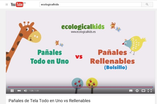 ¿Ya conoces el canal de Youtube de Ecologicalkids?